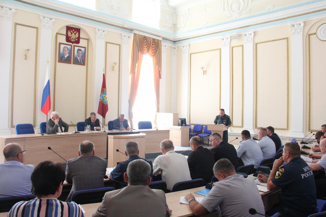 Александр Богомаз провел заседание антитеррористической комиссии Брянской области