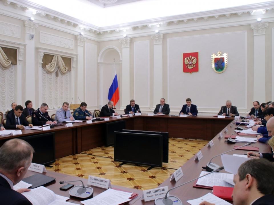 Зал заседаний Правительства Республики Карелия