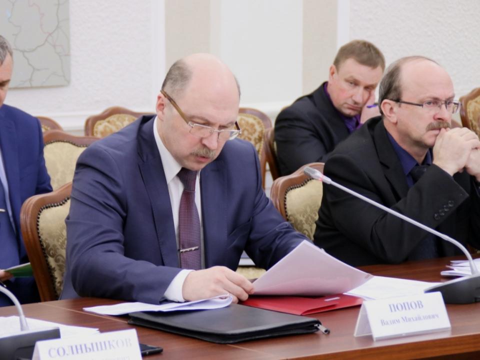 Руководитель аппарата оперативного штаба в Карелии Вадим Попов