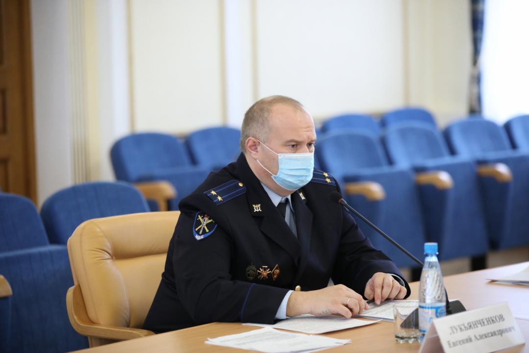 Проведено совместное заседание антитеррористической комиссии и оперативного штаба в Курганской области