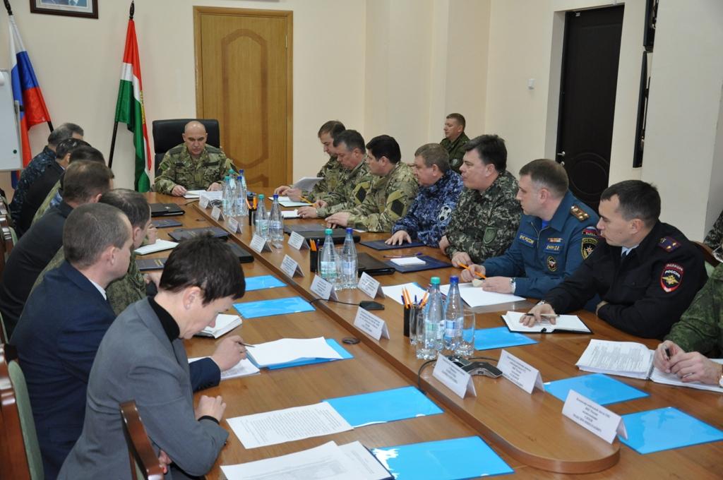Заседание оперативного штаба в Калужской области