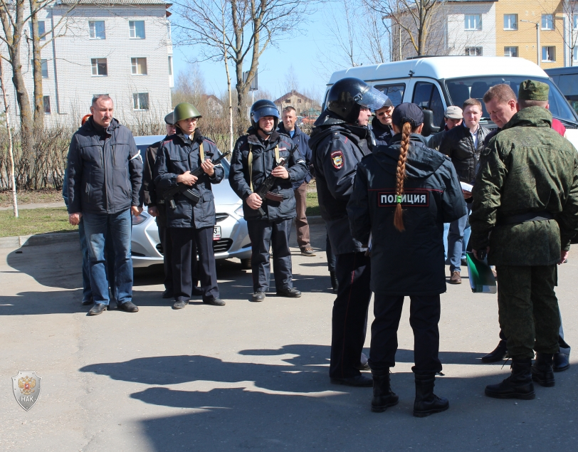 Оперативным штабом во Владимирской области проведено тактико - специальное учение «Метель-Суздаль-2018»