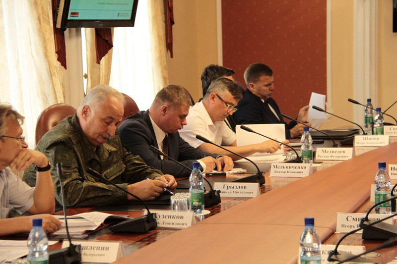 Вопросы обеспечения безопасности на праздновании Дня знаний рассмотрели на заседании антитеррористической комиссии