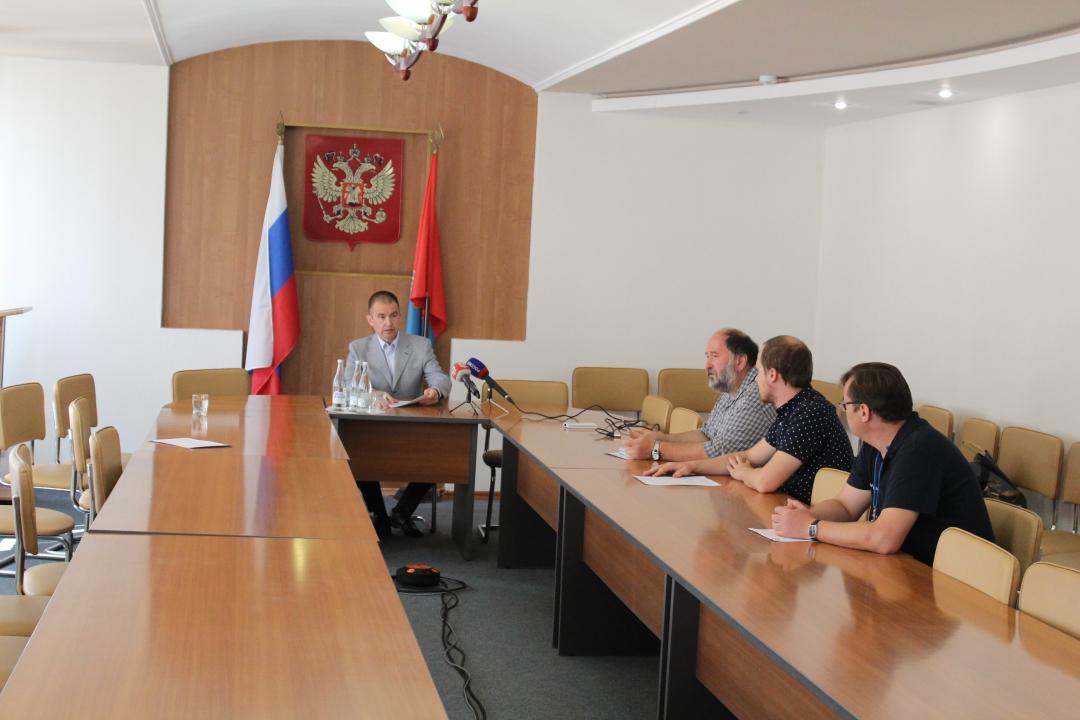 Юрий Смольянинов провел брифинг для региональных СМИ в преддверии «Дня солидарности в борьбе с терроризмом»