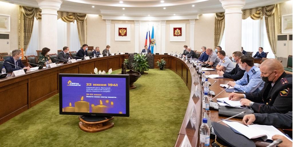 Архангельская область присоединилась к общенациональной минуте молчания