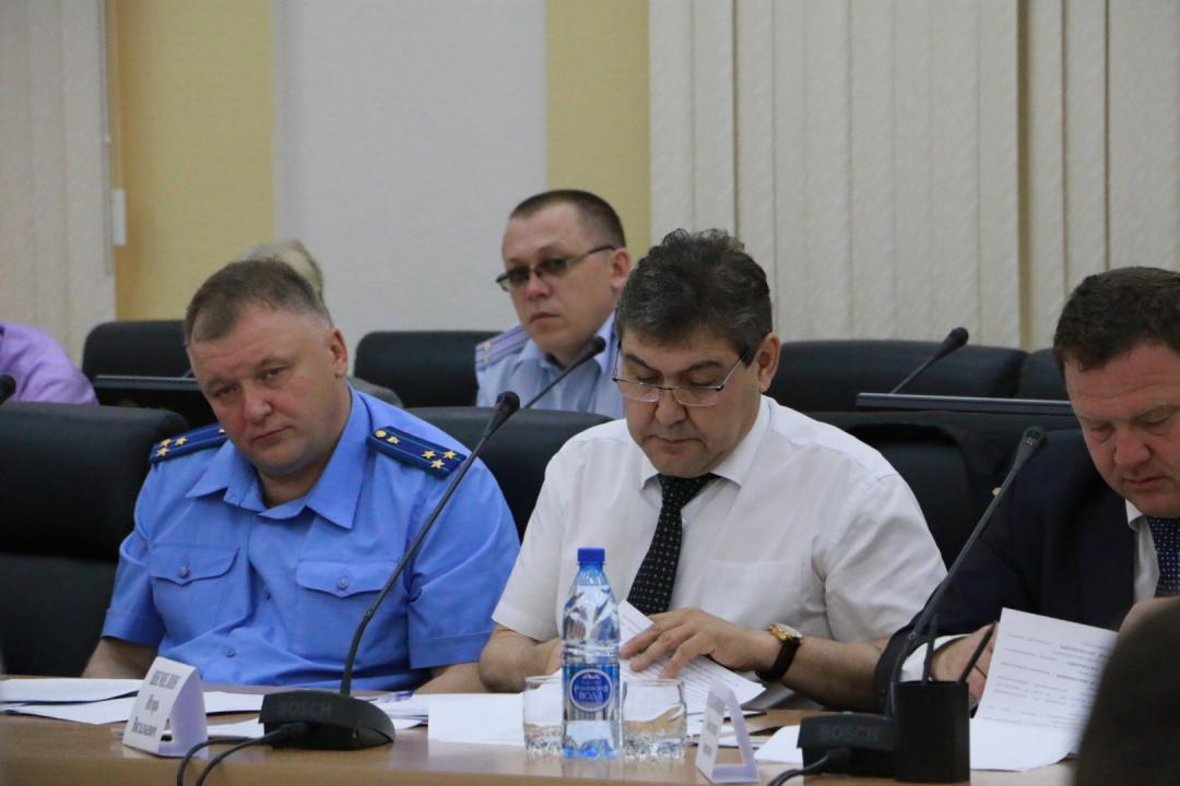 Проведено очередное заседание антитеррористической комиссии в Забайкальском крае