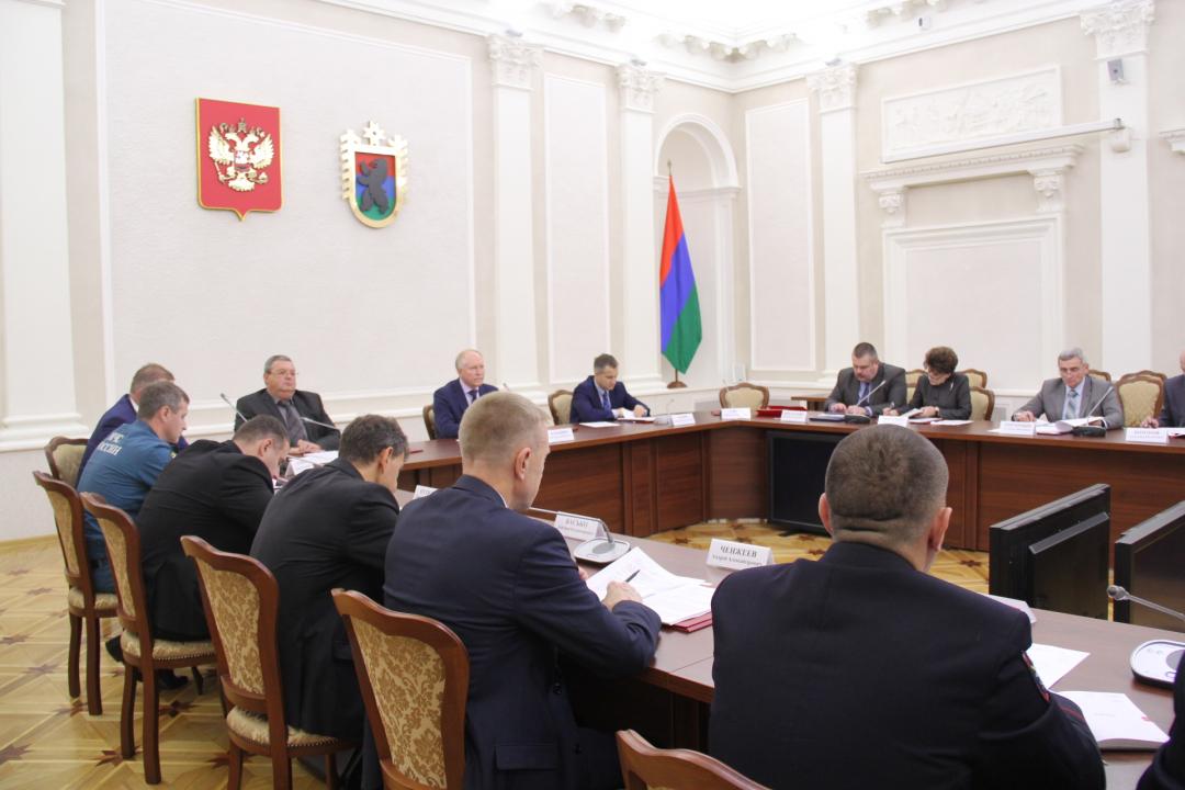 Состоялось очередное заседание антитеррористической комиссии в Республике Карелия