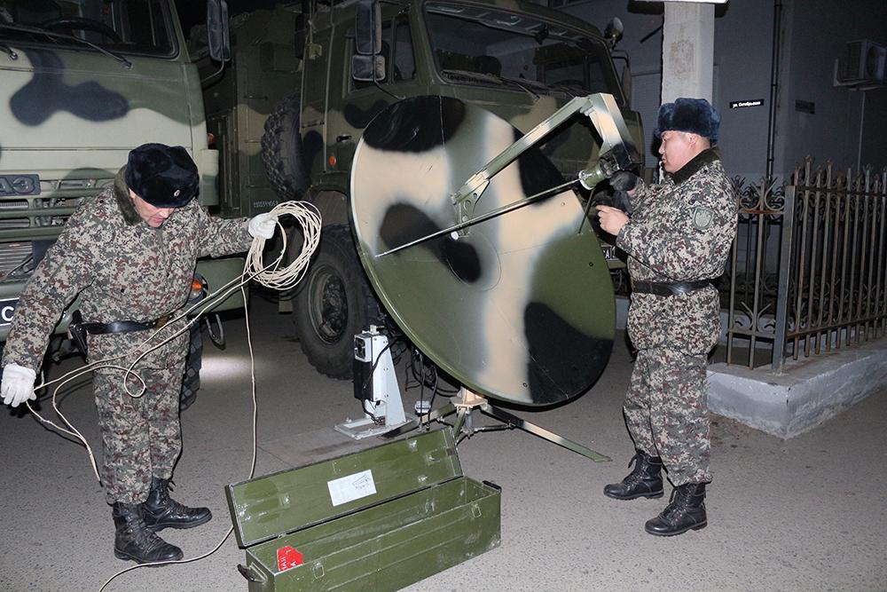 Оперативным штабом в Республике Бурятия на объекте топливно-энергетического комплекса проведено командно-штабное учение «Молния»