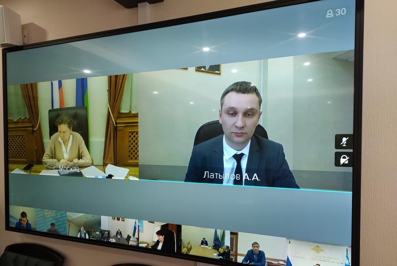 Выступление директора Департамента культуры Ханты-Мансийского автономного округа – Югры (Латыпов Артур Альбертович) по вопросу