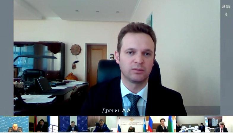 Выступлениедиректора Департамента образования и молодежной политики ХМАО – Югры (Дренин Алексей Анатольевич)