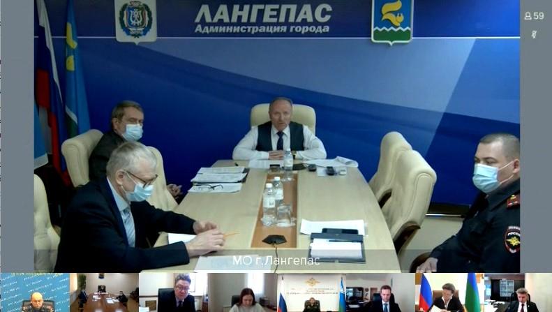 Выступление главы муниципального образования Лангепас ХМАО – Югры, председателя АТК города Лангепаса (Сурцев Борис Фёдорович)