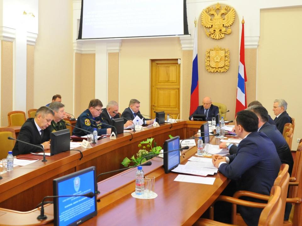 В Омской области состоялось заседание антитеррористической комиссии.