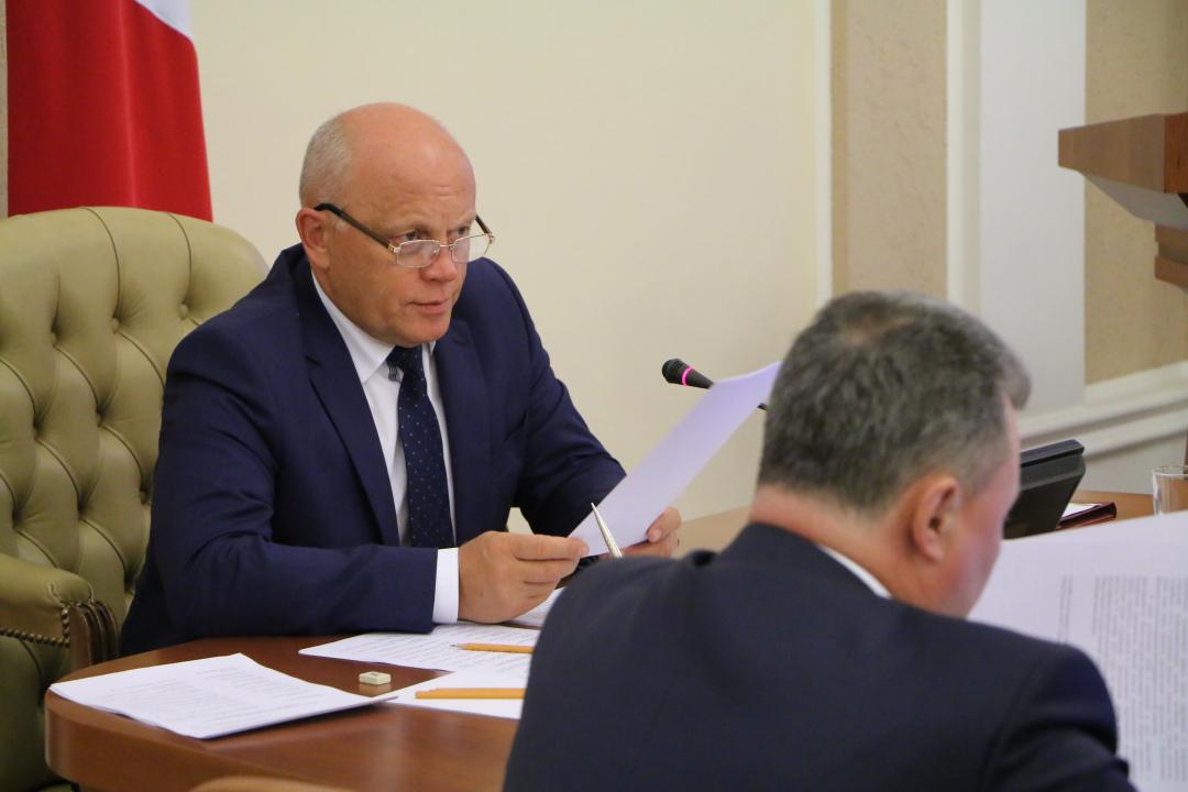 Прошло совместное заседание антитеррористической комиссии Омской области и оперативного штаба в Омской области