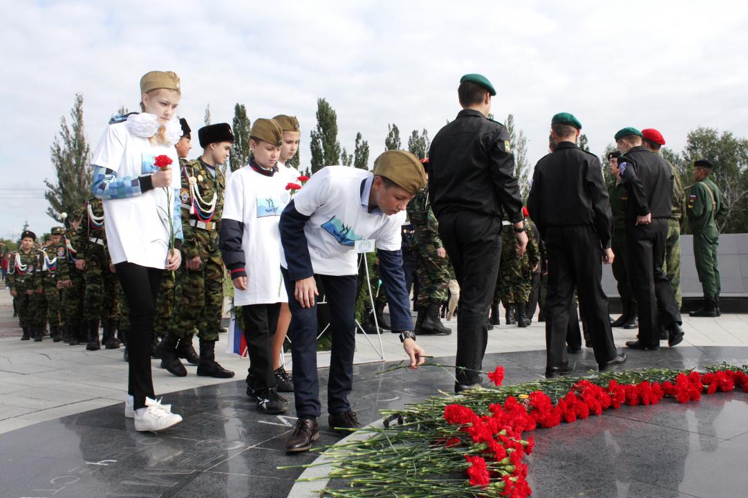 В Парке Победы состоялась акция, посвященная Дню солидарности в борьбе с терроризмом