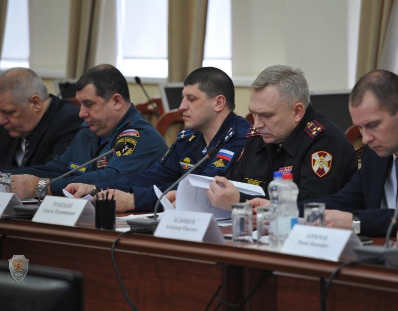 Заседание антитеррористической комиссии Рязанской области