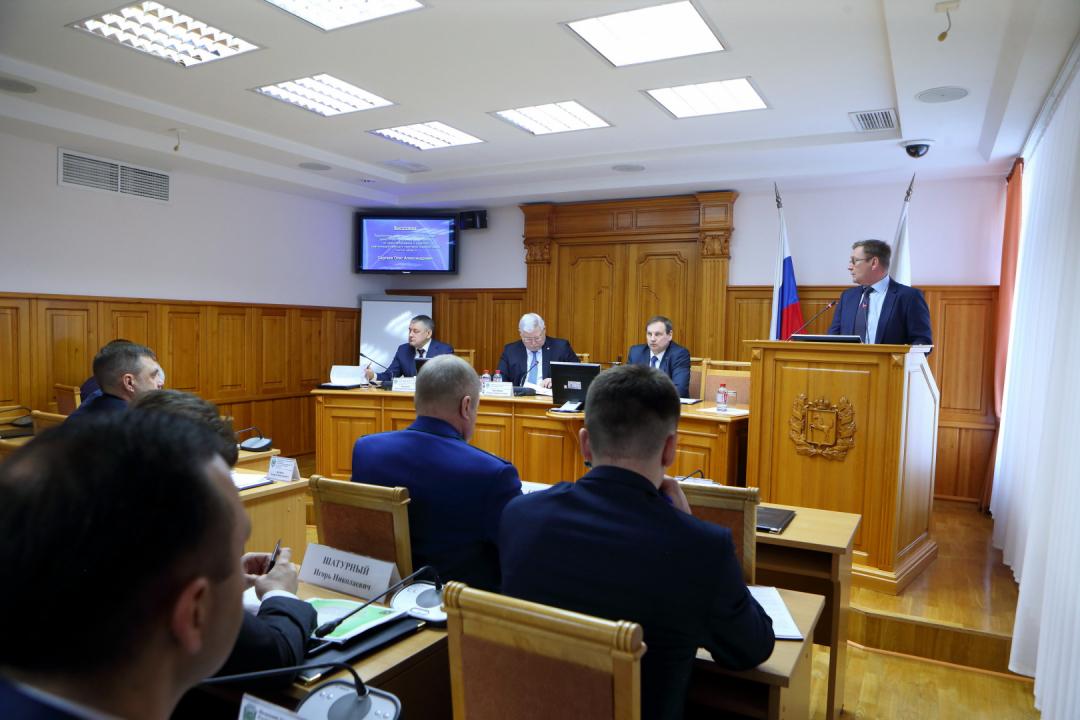 Сергей Жвачкин провел первое в этом году заседание Антитеррористической комиссии Томской области