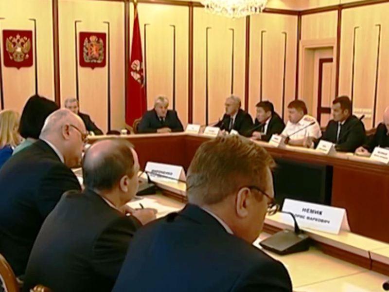 Плановое совместное заседание антитеррористической комиссии края и оперативного штаба в Красноярском крае