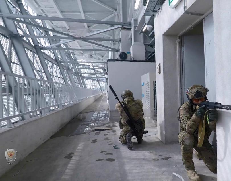 Оперативным штабом в Калининградской области проведено тактико-специальное учение по пресечению террористического акта на объектах с массовым пребыванием людей