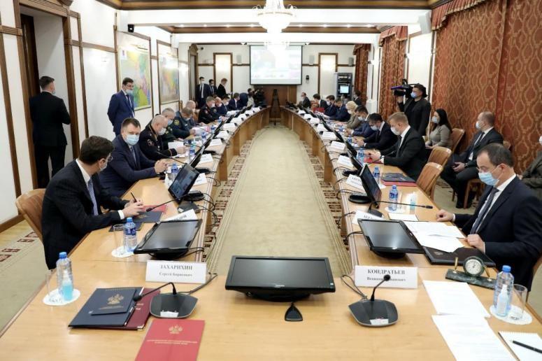 Члены АТК перед началом заседания
