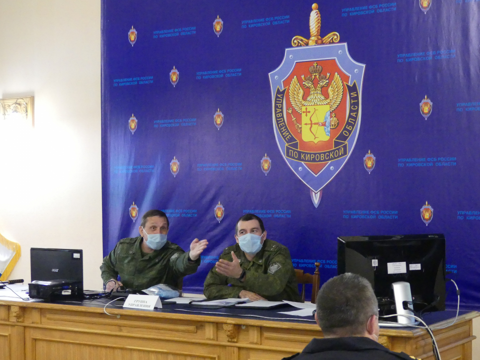 Оперативным штабом в Кировской области проведено плановое антитеррористическое командно-штабное учение «Метель-2020»