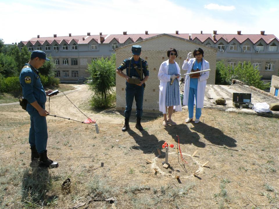 Оперативным Штабом в Республике Калмыкия проведено тактико-специальное учение
