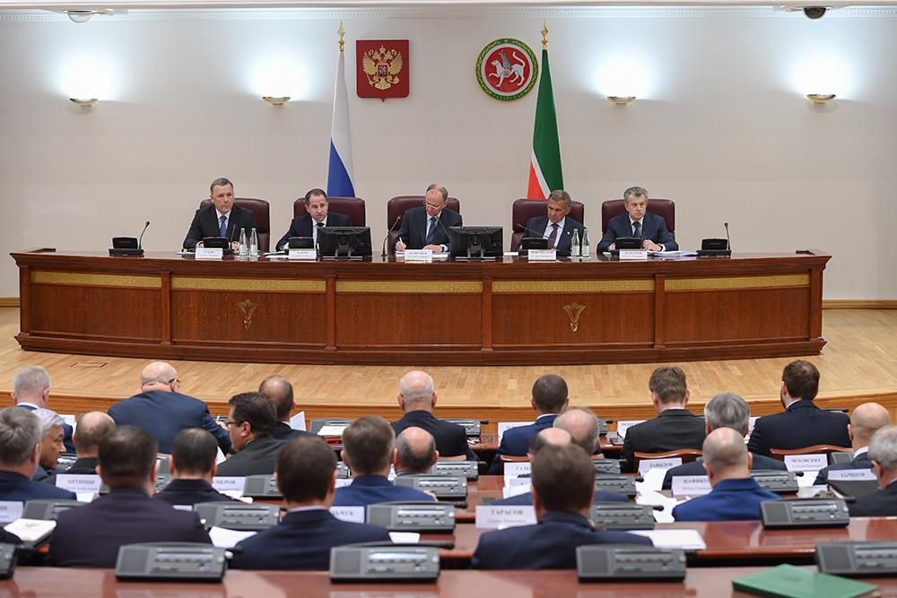 Президиум выездного совещания по вопросу противодействия терроризму и незаконной миграции от 16 мая 2017 года
