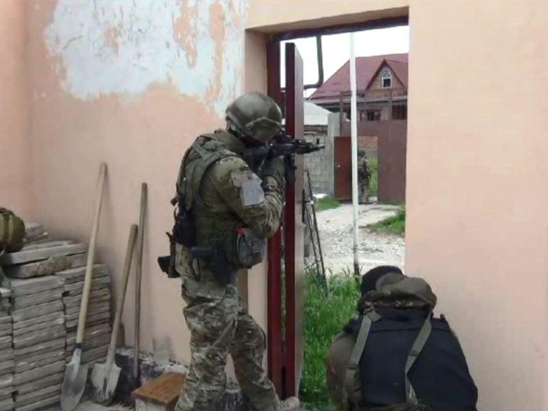 В дагестанском поселке Семендер в ходе КТО нейтрализованы четверо бандитов
