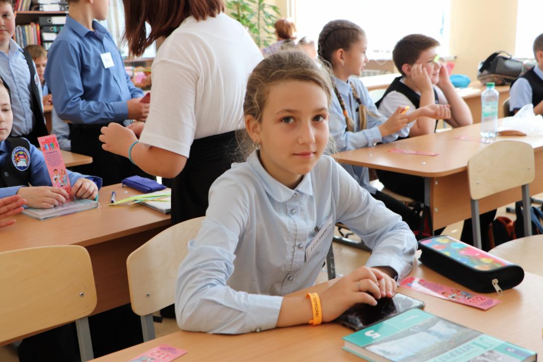 "Акция ""Я за будущее без террора!"" прошла в школах Орла"