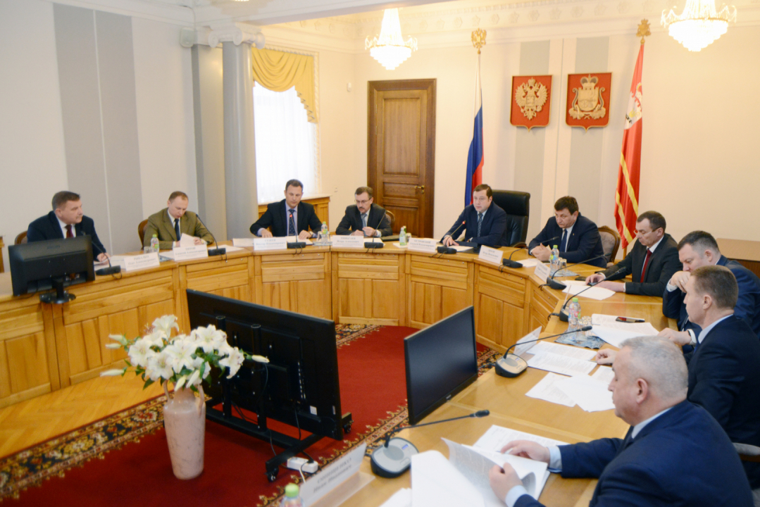 Совместное заседание Антитеррористической комиссии и Оперативного штаба в Смоленской области