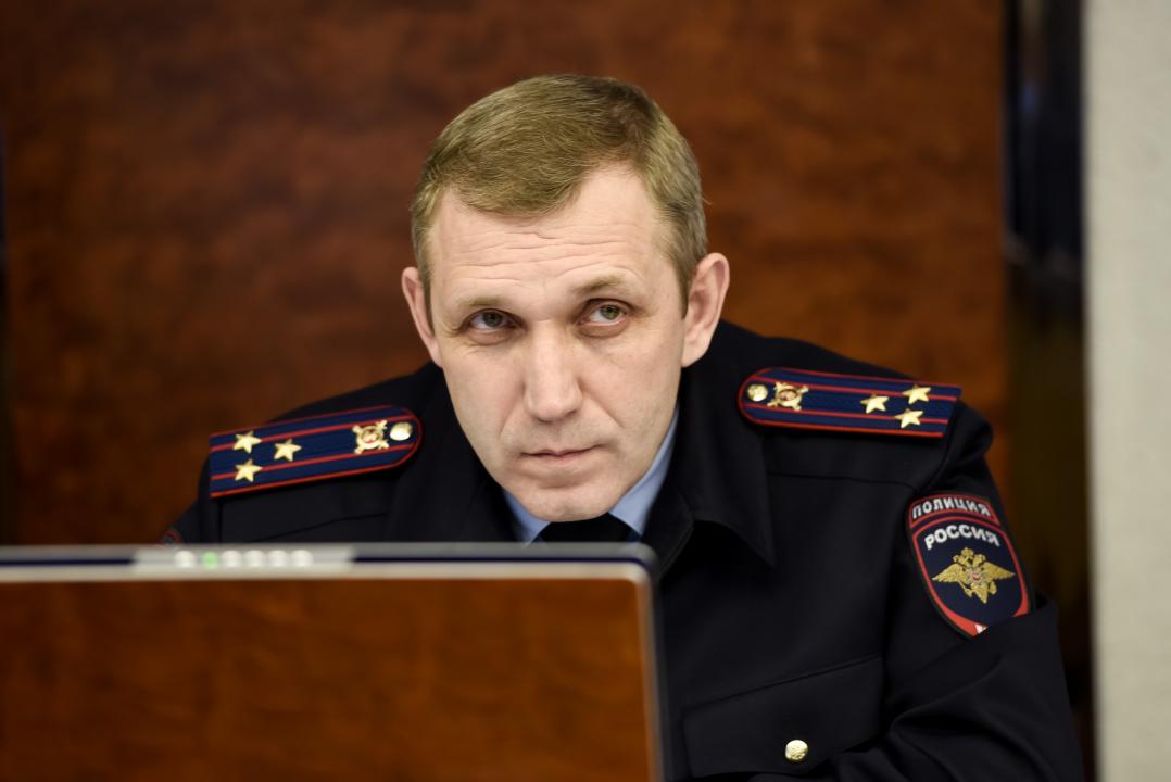 Начальник Управления МВД России по НАО Яковлев О.Н.
