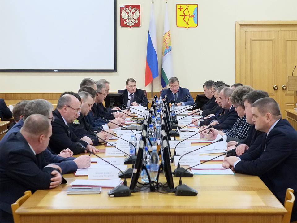 Совместное заседание антитеррористической комиссии в Кировской области и оперативного штаба в Кировской области 19 декабря 2016 года