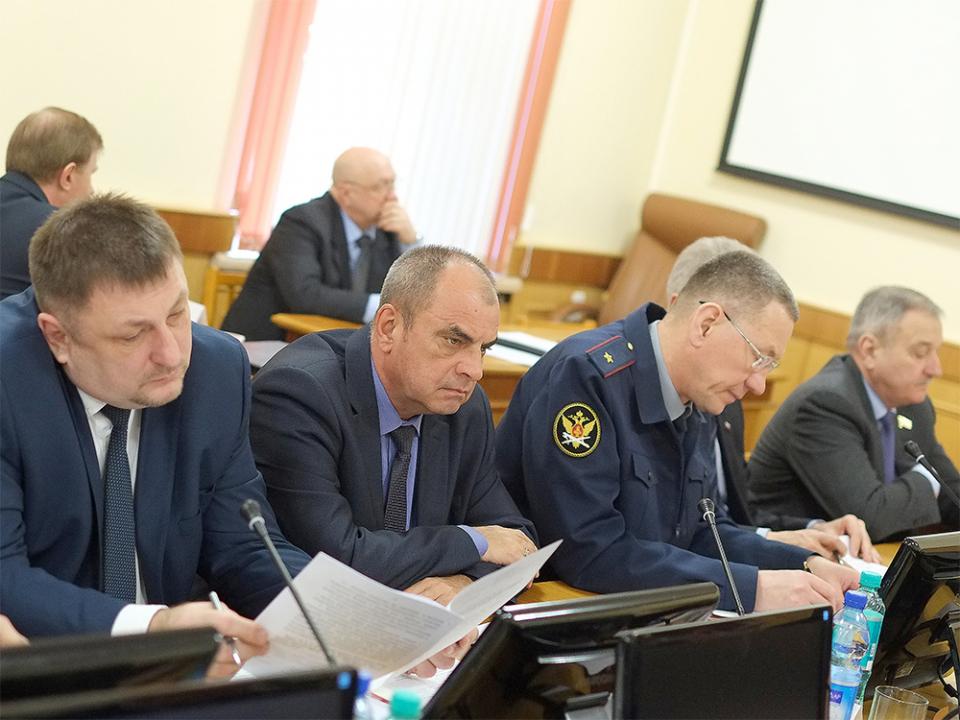 Участники совместного заседания АТК и ОШ в Кировской области