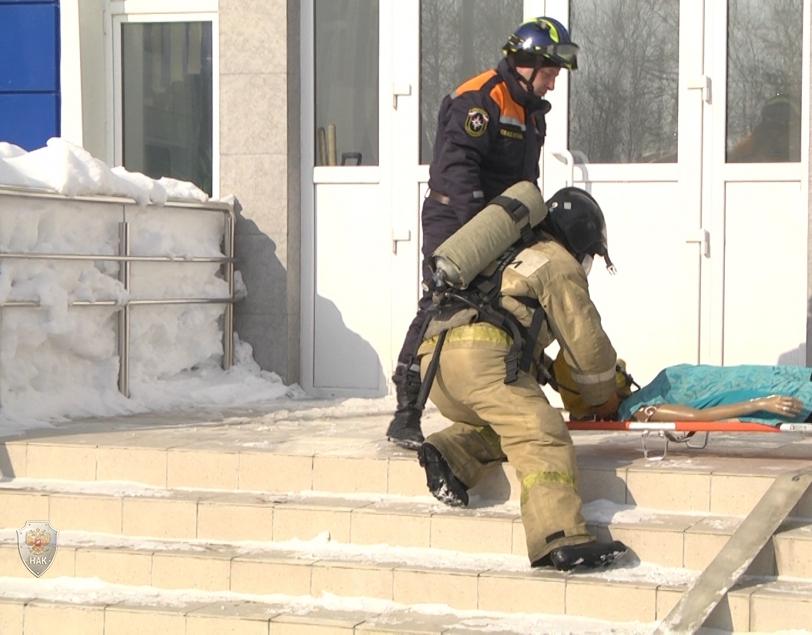 В Южно-Сахалинске оперативным штабом проведено командно-штабное учение