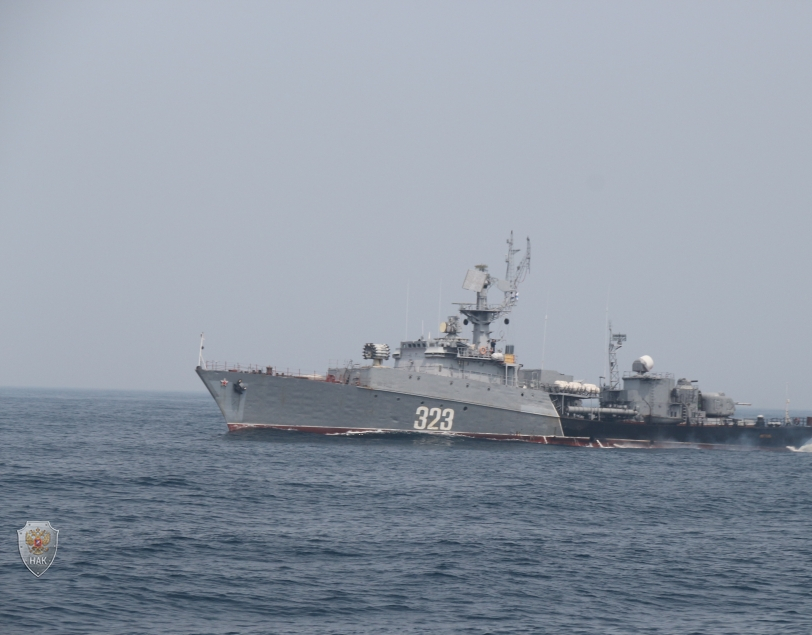 Оперативным штабом в морском районе (бассейне) в Южно-Сахалинске проведено командно-штабное учение