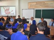 В Ингушетии сотрудники полиции приняли участие в профилактическом мероприятии антитеррористической направленности