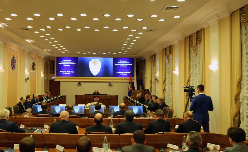 В Москве прошло заседание НАК