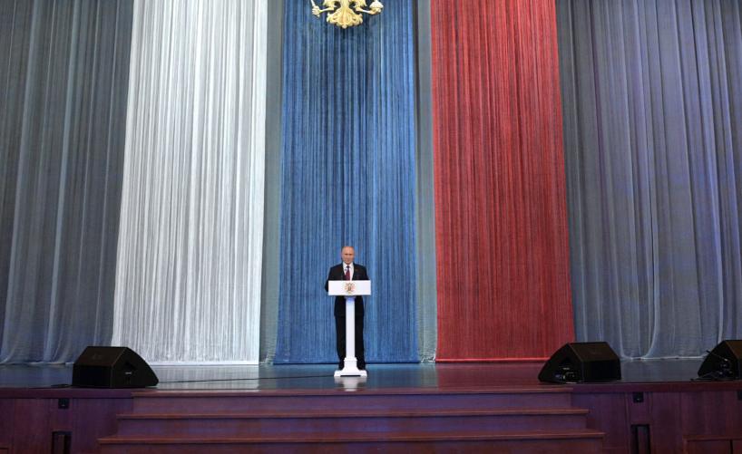Выступление В.Путина на торжественном вечере, посвящённом Дню работника органов безопасности Российской Федерации
