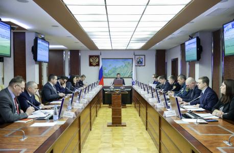 Открытие заседания Антитеррористической комиссии в Ненецком автономном округе