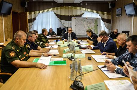 Оперативным штабом в Ульяновской области проведено командно-штабное учение