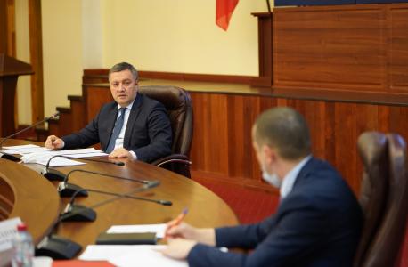 Председатель Комиссии – Губернатор Иркутской области И.И. Кобзев