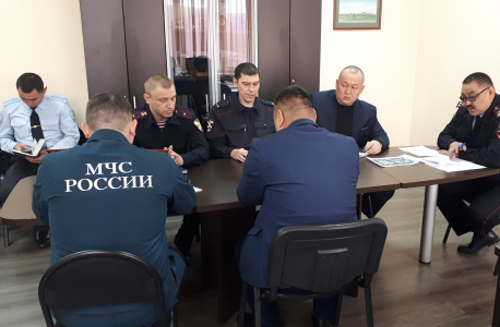 Организация работы членов оперативной группы