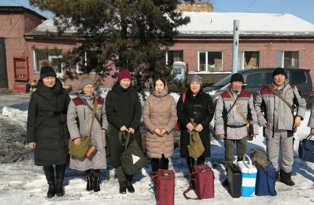 Проверка готовности подразделения ФБУЗ «Центр гигиены и эпидемиологии Республики Тыва