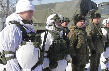 Проверка готовности подразделений Министерства обороны РФ