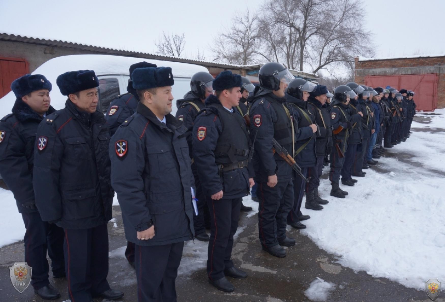 Оперативным штабом в Республике Калмыкия проведено командно-штабное учение