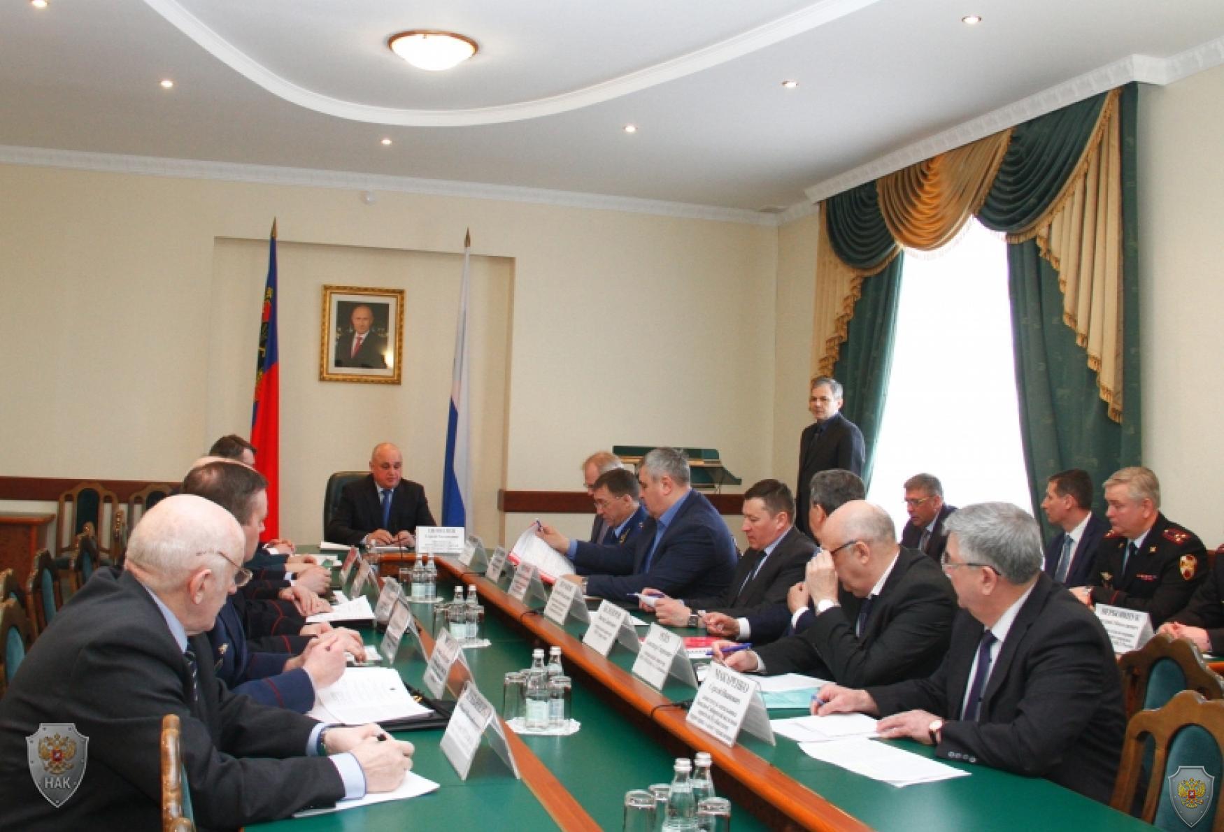 Работа заседания АТК Томской области