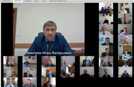 Начальник РУ ФСБ России по Тюменской области Николаев Игорь Валерьевич