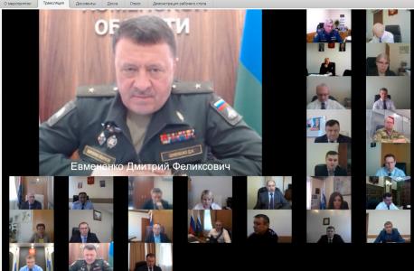 Начальник Тюменского ВВИКУ, начальник Тюменского гарнизона Евмененко Дмитрий Феликсович