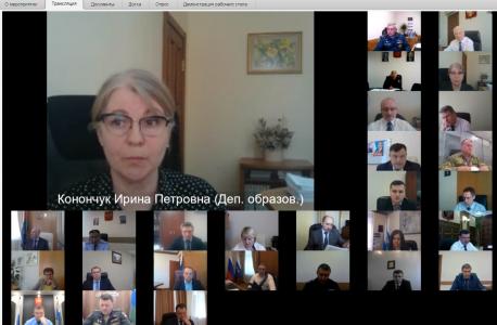 Заместитель директора Департамент образования и науки Тюменской области Конончук Ирина Петровна