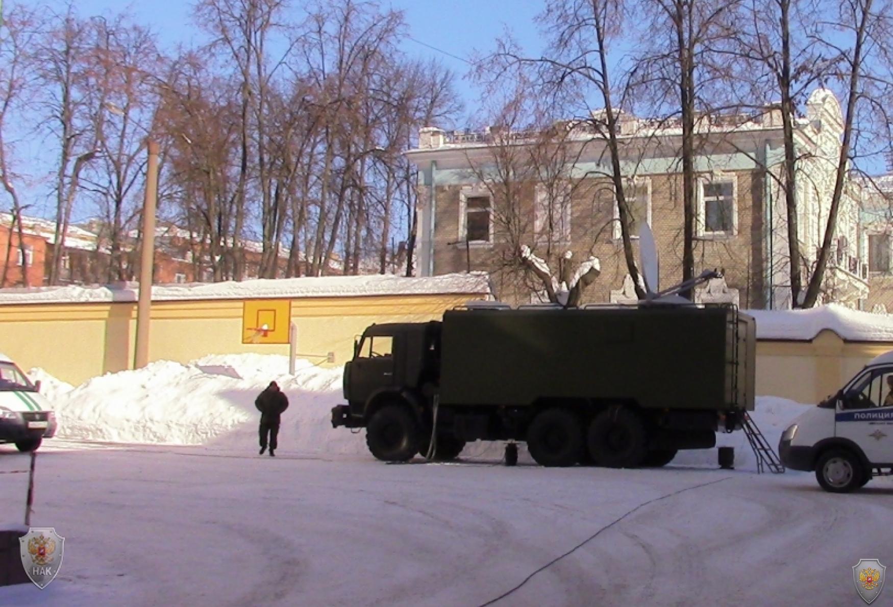 В Иванове прошли командно-штабные учения «Гроза-2018»