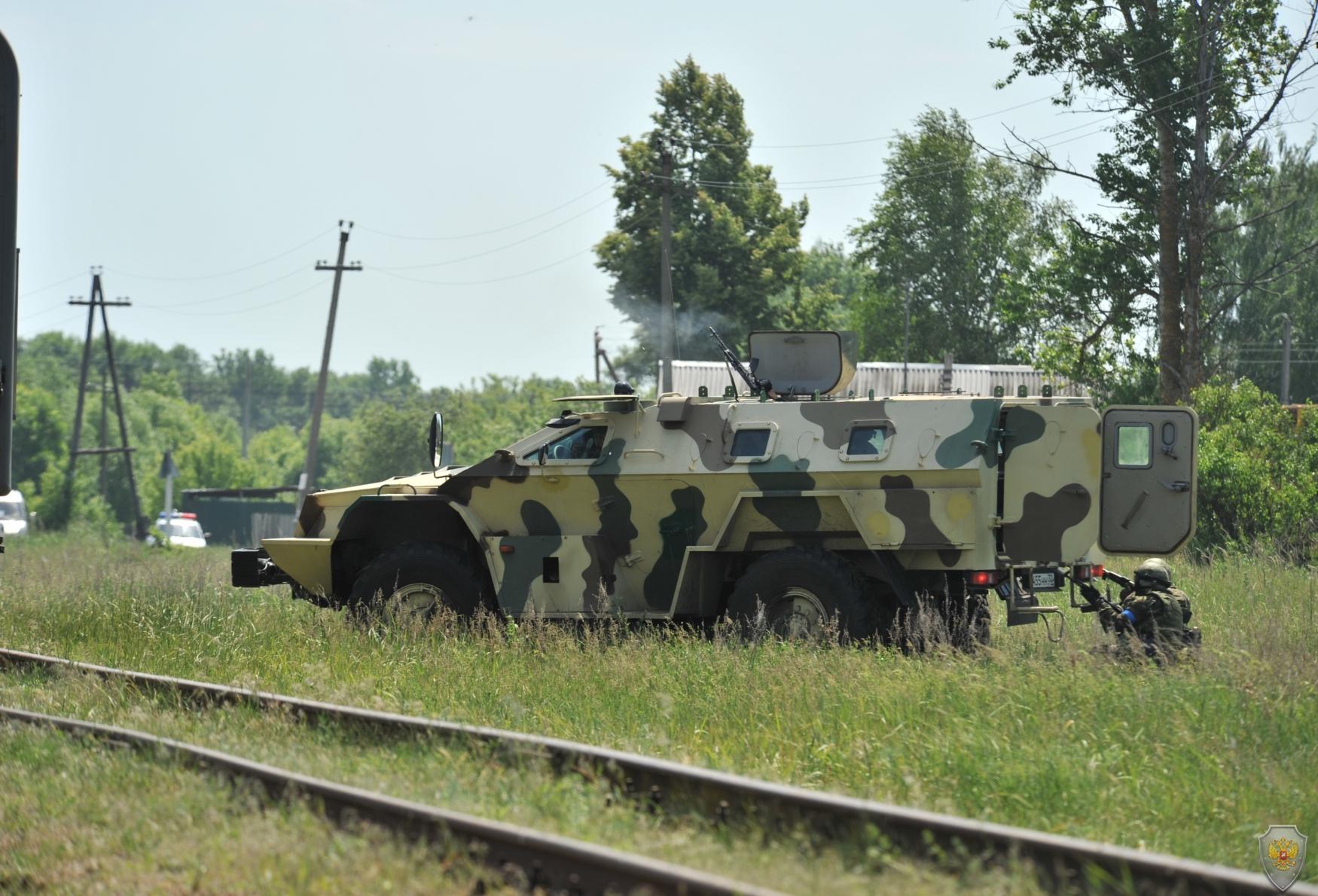 В Брянской области состоялись тактико-специальные учения